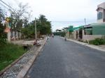 Depuis l'école vers la route cong ba cai (en direction de la route nationale)