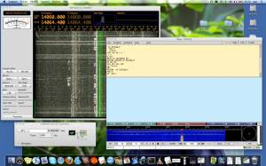 SoftRock RXTX Ensemble avec DSP Radio et fl-digi sous Mac OS X