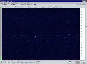 Capture du signal de XV4TUJ par PA0TAB