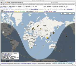 Station entendues en JT65 par XV4Y