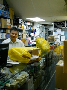 Monsieur Phua du magasin Blazer Electronic à Singapour